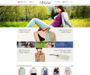 Интернет-магазин одежды Nissa